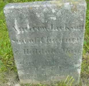MAY, ANDREW JACKSON - Berkshire County, Massachusetts | ANDREW JACKSON MAY - Massachusetts Gravestone Photos