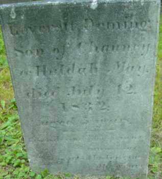 MAY, LEVERETT DEMING - Berkshire County, Massachusetts   LEVERETT DEMING MAY - Massachusetts Gravestone Photos