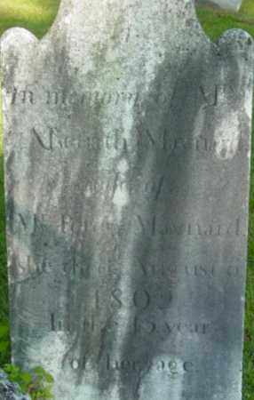 MAYNARD, ASENATH - Berkshire County, Massachusetts | ASENATH MAYNARD - Massachusetts Gravestone Photos