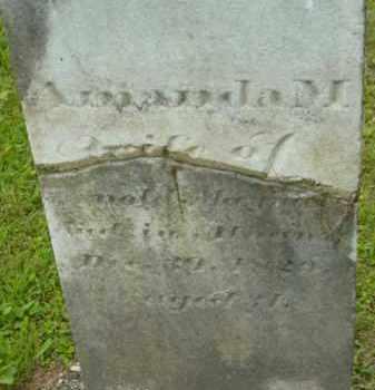 MAYNARD, AMANDA M - Berkshire County, Massachusetts | AMANDA M MAYNARD - Massachusetts Gravestone Photos