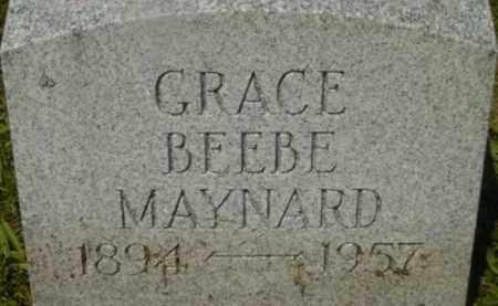 MAYNARD, GRACE - Berkshire County, Massachusetts   GRACE MAYNARD - Massachusetts Gravestone Photos