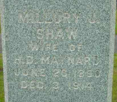 MAYNARD, MILLURY J - Berkshire County, Massachusetts | MILLURY J MAYNARD - Massachusetts Gravestone Photos