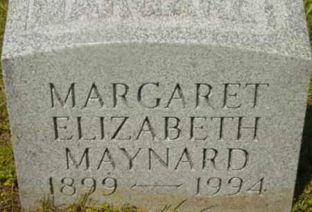MAYNARD, MARGARET ELIZABETH - Berkshire County, Massachusetts   MARGARET ELIZABETH MAYNARD - Massachusetts Gravestone Photos