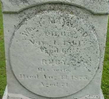 MAYNARD, RUBY - Berkshire County, Massachusetts | RUBY MAYNARD - Massachusetts Gravestone Photos