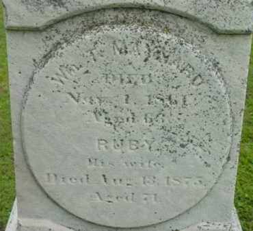 MAYNARD, RUBY - Berkshire County, Massachusetts | RUBY MAYNARD - Massachusetts Gravestone Photos