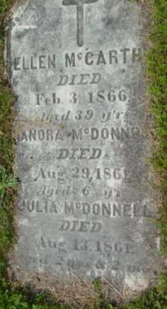 MCDONNELL, HANORA - Berkshire County, Massachusetts | HANORA MCDONNELL - Massachusetts Gravestone Photos