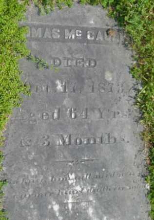 MCCAULEY, THOMAS - Berkshire County, Massachusetts | THOMAS MCCAULEY - Massachusetts Gravestone Photos