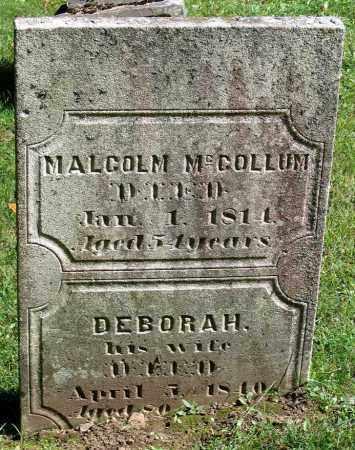 MCCOLLUM, MALCOM - Berkshire County, Massachusetts | MALCOM MCCOLLUM - Massachusetts Gravestone Photos