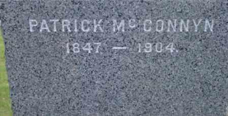 MCCONNYN, PATRICK - Berkshire County, Massachusetts | PATRICK MCCONNYN - Massachusetts Gravestone Photos