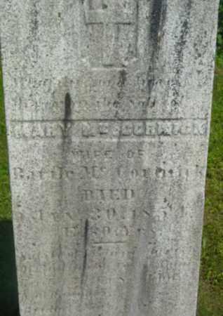 MCCORMICK, MARY - Berkshire County, Massachusetts | MARY MCCORMICK - Massachusetts Gravestone Photos