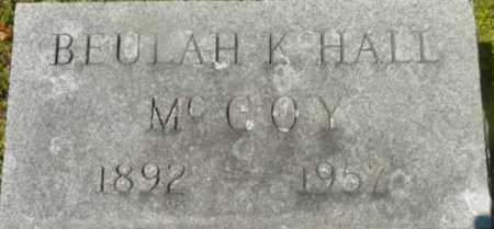 HALL, BEULAH K - Berkshire County, Massachusetts   BEULAH K HALL - Massachusetts Gravestone Photos