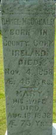 MCDONALD, DANIEL - Berkshire County, Massachusetts | DANIEL MCDONALD - Massachusetts Gravestone Photos