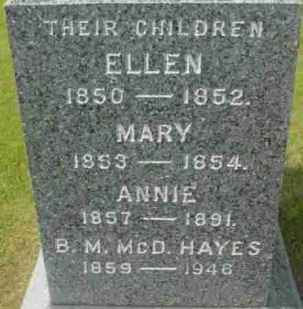 MCDONALD, B M MCD - Berkshire County, Massachusetts | B M MCD MCDONALD - Massachusetts Gravestone Photos