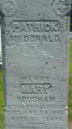 MCDONALD, PATRICK - Berkshire County, Massachusetts | PATRICK MCDONALD - Massachusetts Gravestone Photos