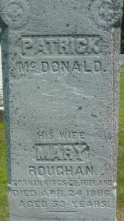 MCDONALD, MARY - Berkshire County, Massachusetts | MARY MCDONALD - Massachusetts Gravestone Photos