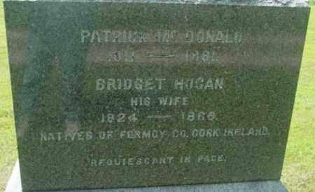 MCDONALD, PATRICK - Berkshire County, Massachusetts   PATRICK MCDONALD - Massachusetts Gravestone Photos