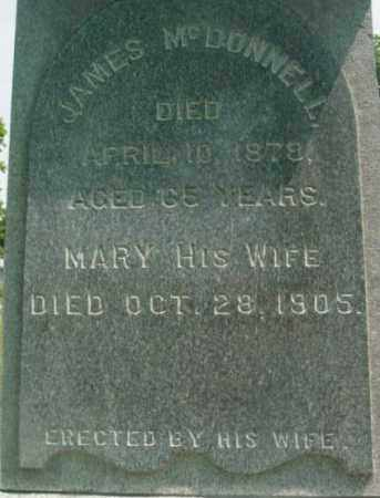 MCDONNELL, JAMES - Berkshire County, Massachusetts | JAMES MCDONNELL - Massachusetts Gravestone Photos