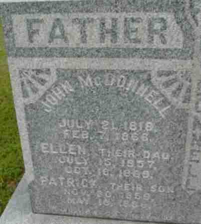 MCDONNELL, ELLEN - Berkshire County, Massachusetts   ELLEN MCDONNELL - Massachusetts Gravestone Photos