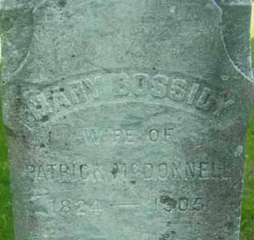 BOSSIDY, MARY - Berkshire County, Massachusetts | MARY BOSSIDY - Massachusetts Gravestone Photos