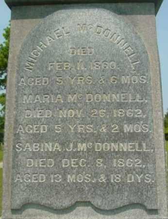 MCDONNELL, SABINA J - Berkshire County, Massachusetts | SABINA J MCDONNELL - Massachusetts Gravestone Photos