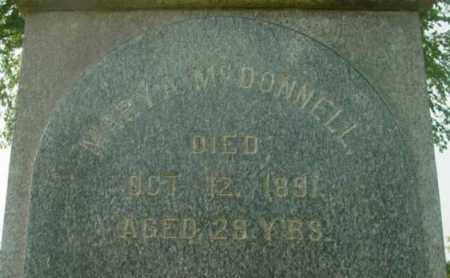 MCDONNELL, MARY A - Berkshire County, Massachusetts | MARY A MCDONNELL - Massachusetts Gravestone Photos