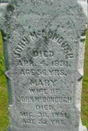MCDONOUGH, JOHN - Berkshire County, Massachusetts | JOHN MCDONOUGH - Massachusetts Gravestone Photos