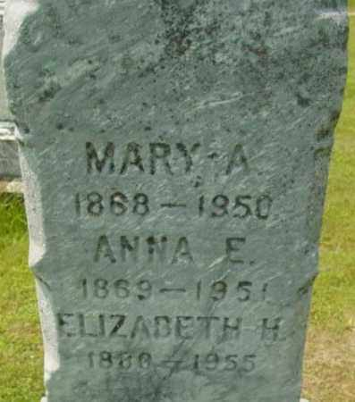 MCDONOUGH, ELIZABETH H - Berkshire County, Massachusetts | ELIZABETH H MCDONOUGH - Massachusetts Gravestone Photos