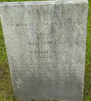 MCINTIRE, GEORGE - Berkshire County, Massachusetts | GEORGE MCINTIRE - Massachusetts Gravestone Photos