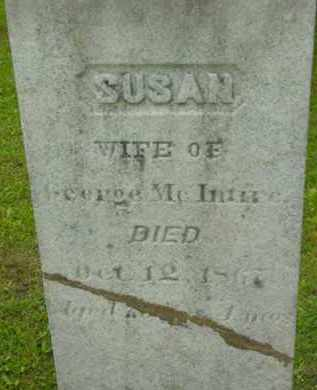 MCINTIRE, SUSAN H - Berkshire County, Massachusetts | SUSAN H MCINTIRE - Massachusetts Gravestone Photos