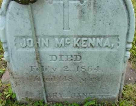 MCKENNA, JOHN - Berkshire County, Massachusetts | JOHN MCKENNA - Massachusetts Gravestone Photos