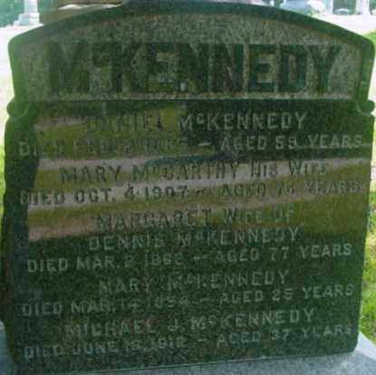 MCCARTHY MCKENNEDY, MARY - Berkshire County, Massachusetts | MARY MCCARTHY MCKENNEDY - Massachusetts Gravestone Photos