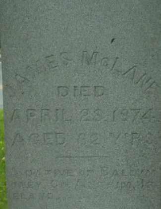 MCLANE, JAMES - Berkshire County, Massachusetts | JAMES MCLANE - Massachusetts Gravestone Photos