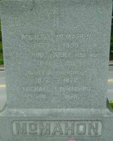 MCMAHON, MICHAEL J - Berkshire County, Massachusetts | MICHAEL J MCMAHON - Massachusetts Gravestone Photos