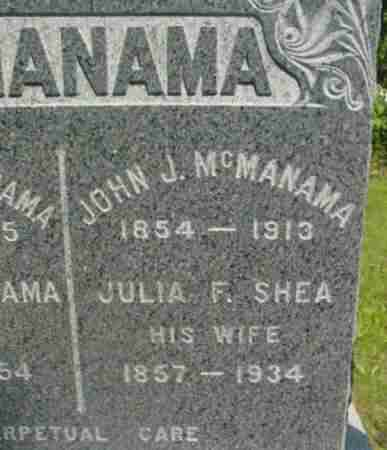 MCMANAMA, JOHN J - Berkshire County, Massachusetts | JOHN J MCMANAMA - Massachusetts Gravestone Photos