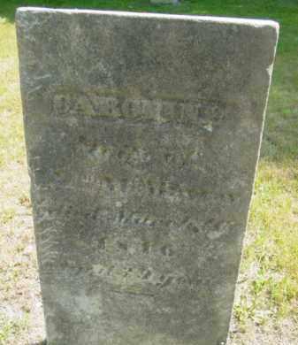 MCMURRAY, CAROLINE - Berkshire County, Massachusetts | CAROLINE MCMURRAY - Massachusetts Gravestone Photos