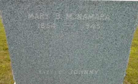 MCNAMARA, MARY B - Berkshire County, Massachusetts | MARY B MCNAMARA - Massachusetts Gravestone Photos