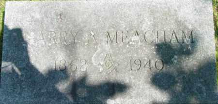 MEACHAM, HARRY A - Berkshire County, Massachusetts   HARRY A MEACHAM - Massachusetts Gravestone Photos