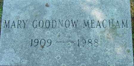 MEACHAM, MARY - Berkshire County, Massachusetts   MARY MEACHAM - Massachusetts Gravestone Photos