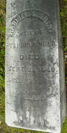 MEAD, HARRIET MARIA - Berkshire County, Massachusetts | HARRIET MARIA MEAD - Massachusetts Gravestone Photos