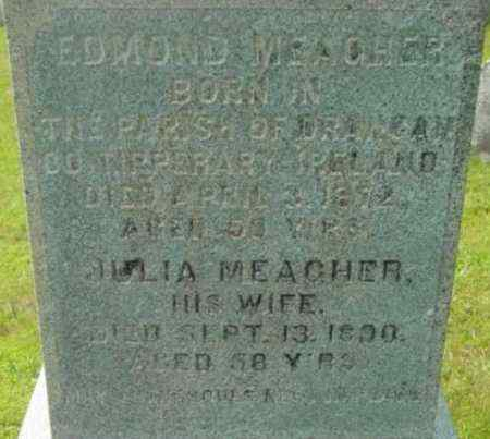 MEAGHER, EDMOND - Berkshire County, Massachusetts | EDMOND MEAGHER - Massachusetts Gravestone Photos