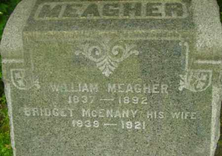MEAGHER, WILLIAM - Berkshire County, Massachusetts | WILLIAM MEAGHER - Massachusetts Gravestone Photos