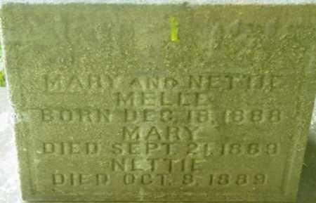 MELLE, MARY - Berkshire County, Massachusetts | MARY MELLE - Massachusetts Gravestone Photos