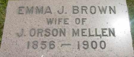 BROWN, EMMA J - Berkshire County, Massachusetts | EMMA J BROWN - Massachusetts Gravestone Photos
