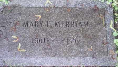 MERRIAM, MARY E - Berkshire County, Massachusetts | MARY E MERRIAM - Massachusetts Gravestone Photos