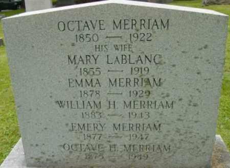 MERRIAM, WILLIAM H - Berkshire County, Massachusetts   WILLIAM H MERRIAM - Massachusetts Gravestone Photos