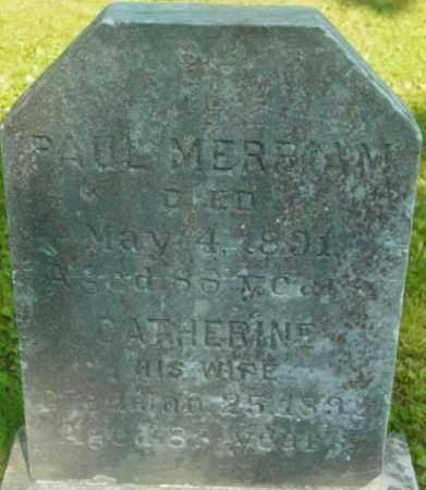 MERRIAM, CATHERINE - Berkshire County, Massachusetts   CATHERINE MERRIAM - Massachusetts Gravestone Photos