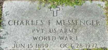 MESSENGER, CHARLES F - Berkshire County, Massachusetts   CHARLES F MESSENGER - Massachusetts Gravestone Photos