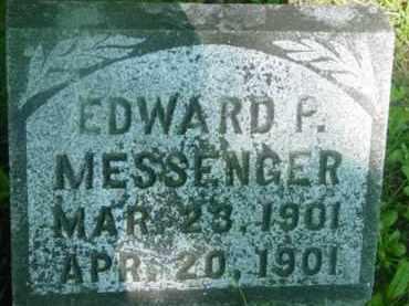 MESSENGER, EDWARD P - Berkshire County, Massachusetts   EDWARD P MESSENGER - Massachusetts Gravestone Photos