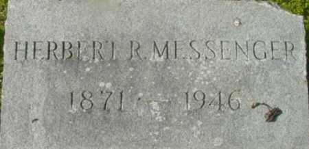 MESSENGER, HERBERT R - Berkshire County, Massachusetts | HERBERT R MESSENGER - Massachusetts Gravestone Photos