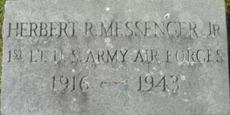 MESSENGER, HERBERT R, JR - Berkshire County, Massachusetts | HERBERT R, JR MESSENGER - Massachusetts Gravestone Photos